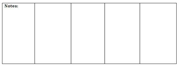 Ca essential standards essay rubric