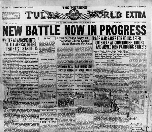 Ford Of Tulsa: 11.04.08: The 1921 Tulsa Race Riot And Its Legacy