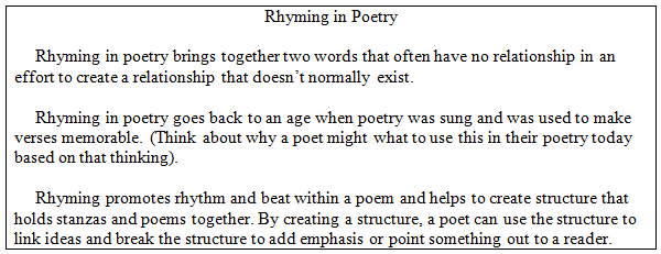 poetic elements in richard cory a poem by edwin robinson Transcript of richard cory by edwin arlington robinson  poem was published in 1897  who does richard cory symbolize from robinson's life a).