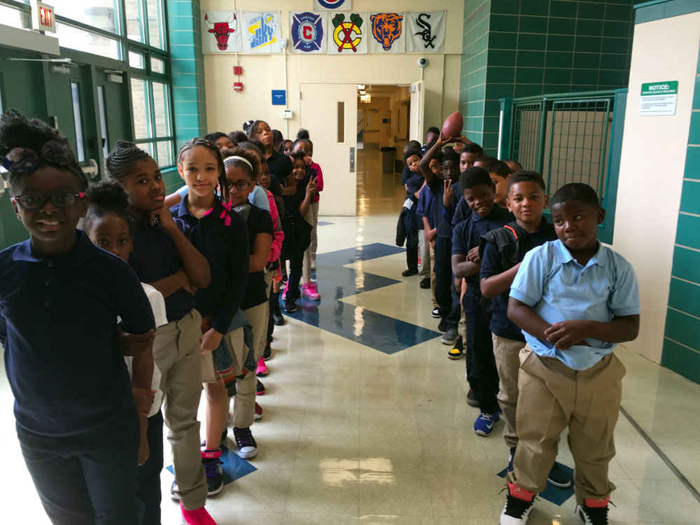 Ms. Ponder's class Carter G. Woodson Elementary