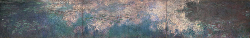 Claude Monet, Water Lilies, 1914-1926, http://www.moma.org