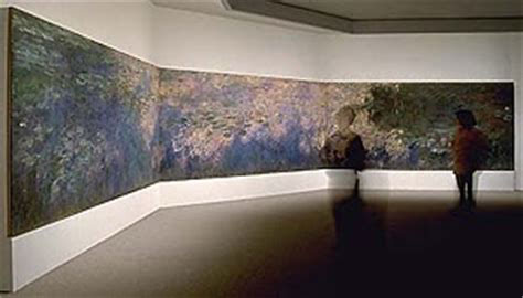 Installation of Water Lilies at the MOMA, http://www.moma.org