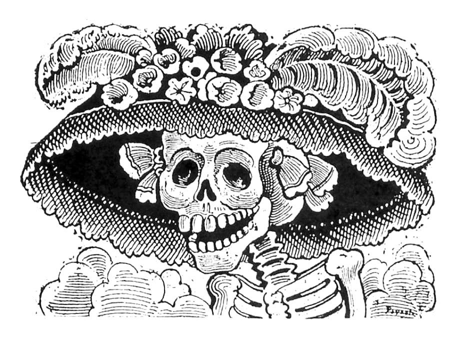 La Catrina by José Guadalupe Posada