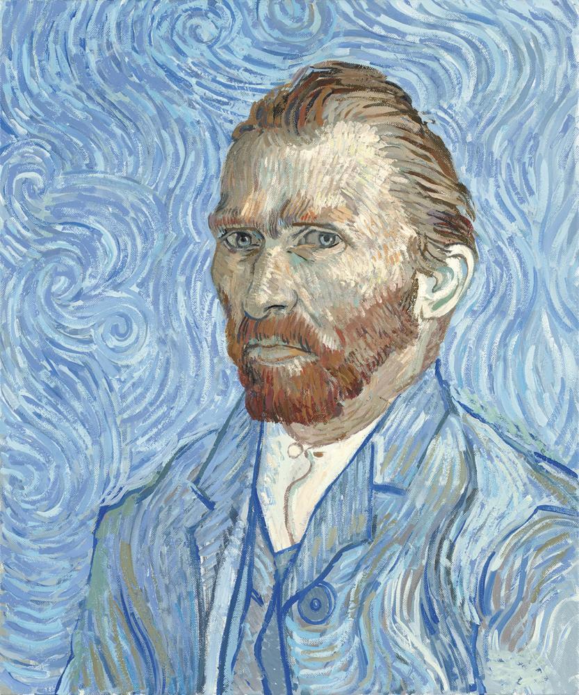 Self Portrait by Vincent van Gogh 1889